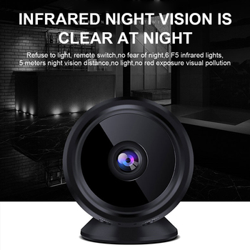 цена на Home Security Camera Mini WIFI Camera  1080P A9 Wireless Camera HD Sensor Night Vision Camcorder Motion Sport DV Video  P2P Cam