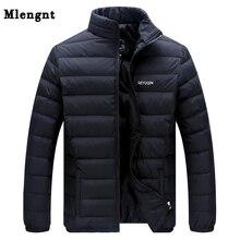 ビッグサイズ2019白アヒルダウンメンズ冬ジャケット超軽量ダウンジャケットカジュアルなアウターウェア雪暖かい毛皮の襟ブランドコートパーカー