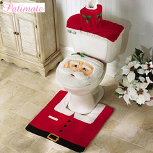 Santa Claus Toilet Decor Christmas Ornament 2019 Gift  Merry Decoration for Home Cristmas Xmas New year 2020