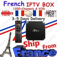 Best French IPTV Box X96 mini Android TV Box