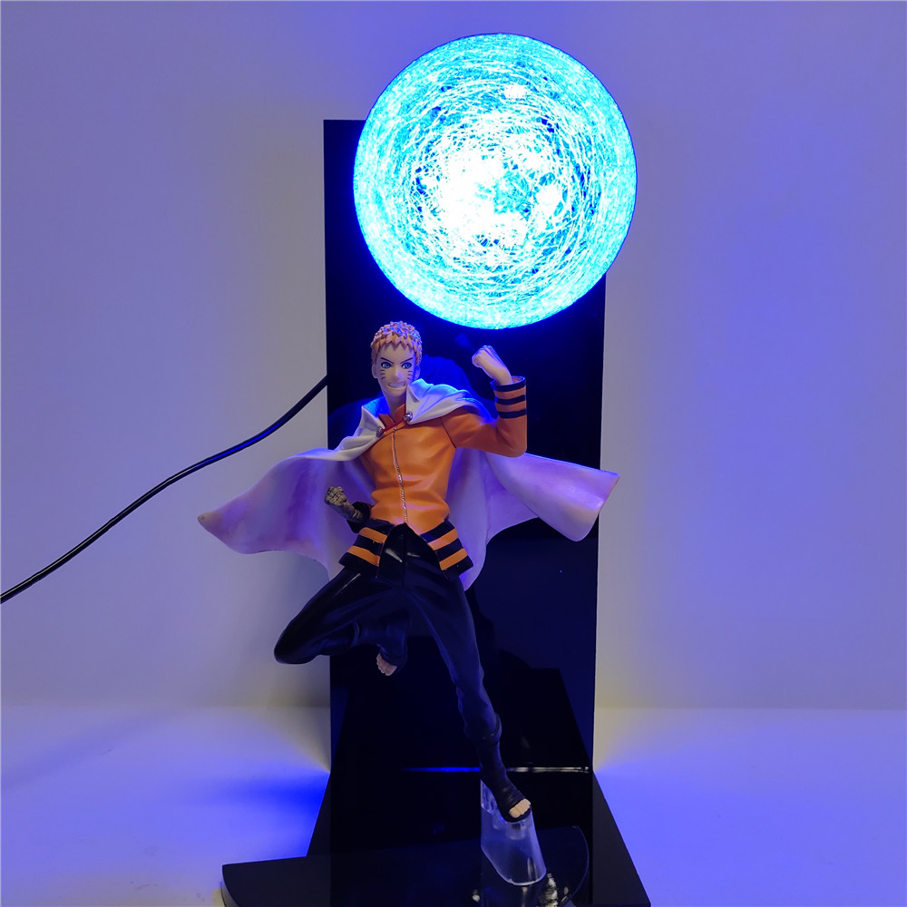 Naruto BORUTO Uzumaki Naruto Diy LED Night Light Shippuden Uzumaki LED Table Lamp Home Decorative Lamp Boy Xmas Gift