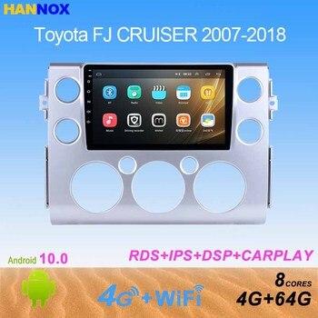 9 pulgadas IPS Android 10,0 reproductor de radio para coche para Toyota FJ CRUISER 2007, 2008, 2009, 2010, 2011-2018 de navegación multimedia DVD GPS 2din
