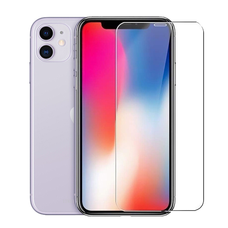 Protective Glass On For Iphone 11 Pro Max 7 8 6 S Plus X XS XR Screen Protector Full Cover Protection Tempered Glass Safety Film
