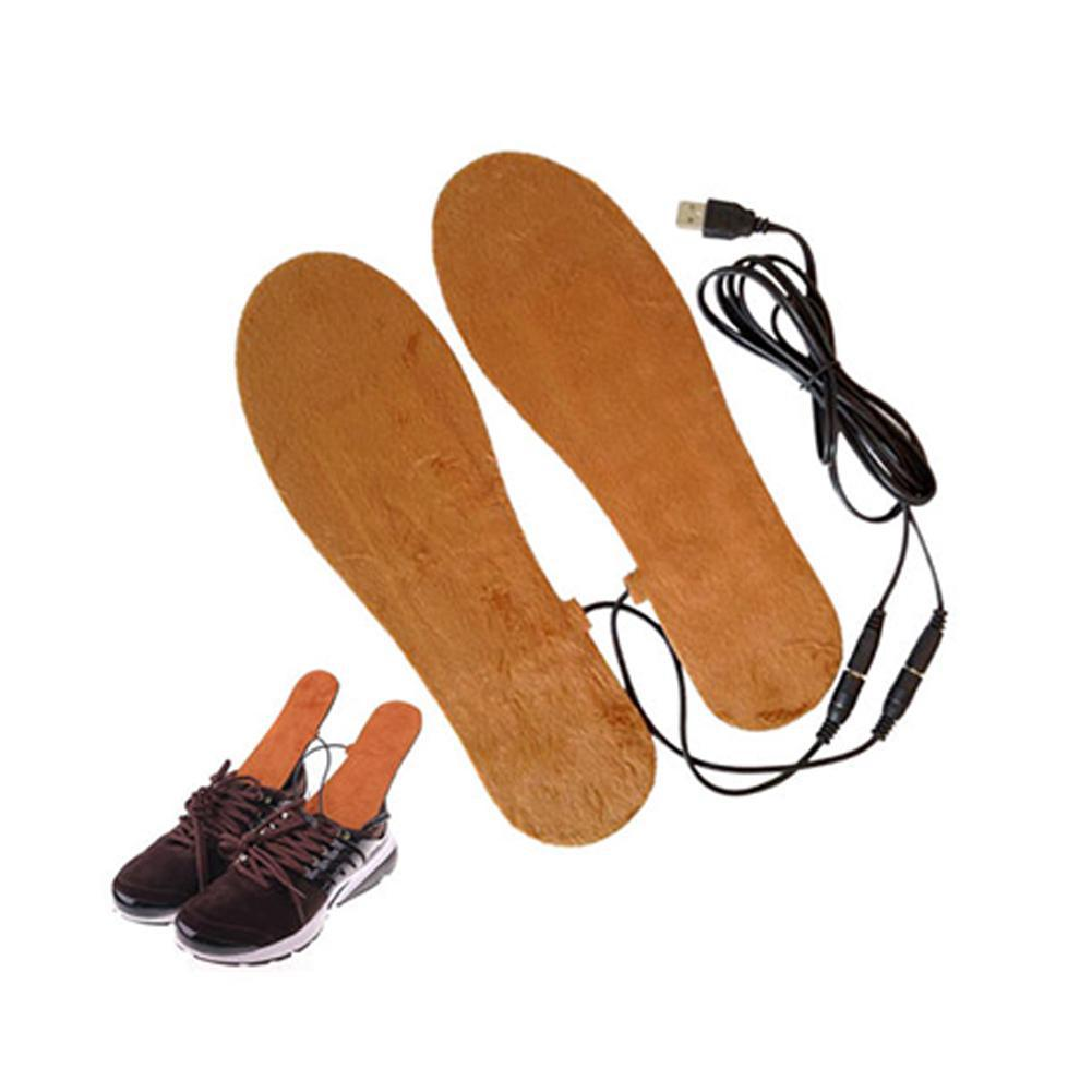 Outdoor Smart Insoles USB Rechargeable Plantillas Electric Heating Insole Heater Warm for Winter Shoes Supplies