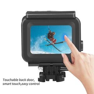 Image 5 - SCHIEßEN 45m Tauchen Wasserdichte Fall für GoPro Hero 7 5 6 Schwarz Action Kamera Unterwasser Gehäuse Fall Halterung für gehen Pro 6 5 Zubehör