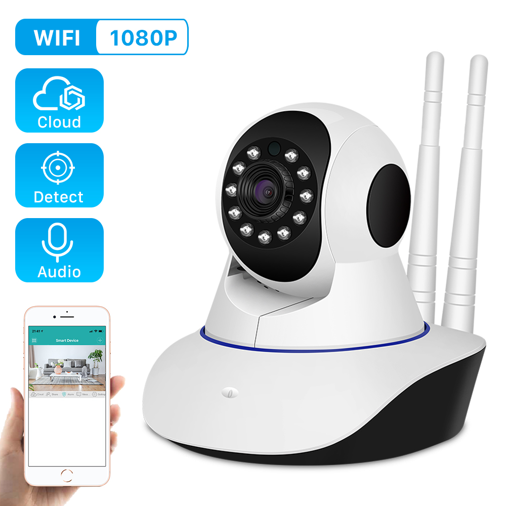 1080P 2MP IP Camera Wireless Home Security Camera Surveillance Camera Wifi 15M Night