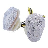 Motocicleta flush montar sinais de volta luz led indicador pisca lâmpada blinker luz para kawasaki zx6r zx7r zx9r zx636 zzr600 zx| |   -