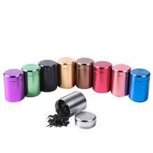 Sugar-Jars Canisters Aluminum Seal-Storage Kitchen Tea with Cover Dried-Fruit Tins Home