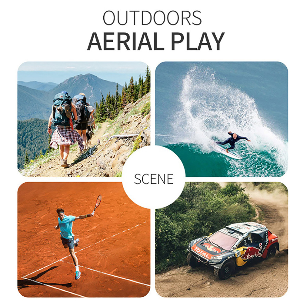 RC Drone UAV with Aerial Photography 4K HD Pixel Camera Remote Control 4-Axis Quadcopter Aircraft Long Life Flying Toys JIMITU 4