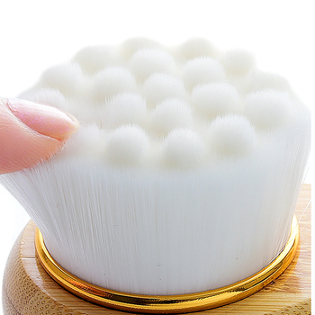 Face Wash Brush Bamboo Facial Cleansing Brush Face Washing Cleansers Deep Pore Female Skin Care Cleaning Tool 5