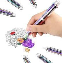05 мм 6 в 1 многоцветный Шариковая ручка лучше всего подходит