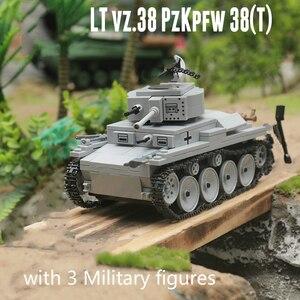 Image 1 - Новый 535 шт. военный WW2, светильник, строительные блоки, модель, техника, город, военный солдат, игрушки для оружия