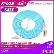 10G OM3 LC/UPC LC/UPC Multimode Duplex 2.0mm 3.0mm Fiber Optic Patch Cord LC LC Fiber Optic Patch Cable