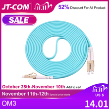 10G OM3 LC/UPC LC/UPC Multimode Duplex 2,0mm 3,0mm Lwl patchkabel LC LC Faser optic Patch Kabel