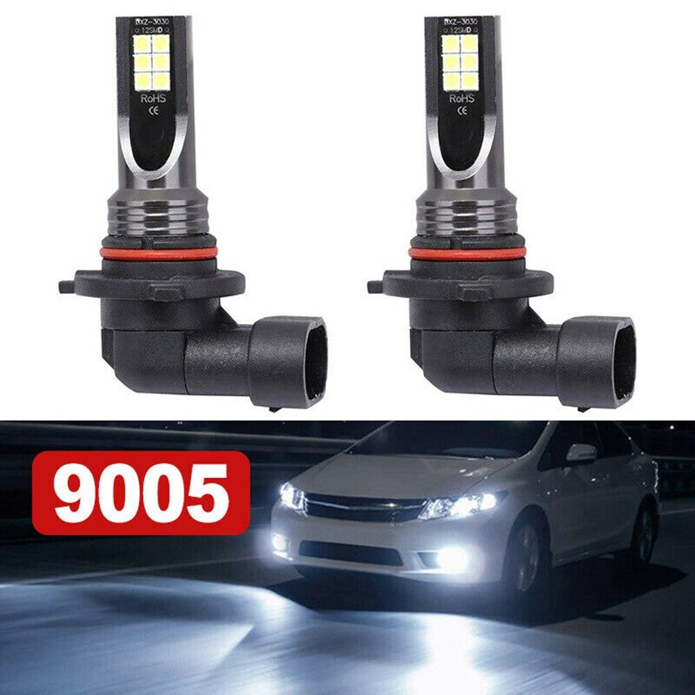 1 пара 9005 HB3 светодиодный головной светильник автомобильный комплект 110W 20000LM туман светильник лампочка 6000K лампа