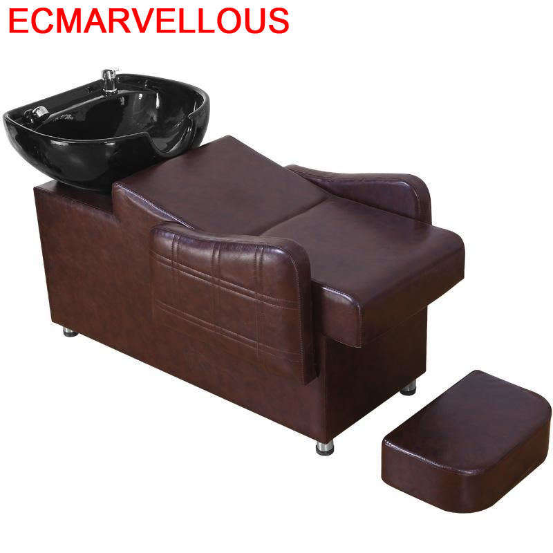 Barber Shop Bed For Makeup Belleza Beauty De Cabeleireiro Hair Furniture Silla Peluqueria Cadeira Maquiagem Salon Shampoo Chair