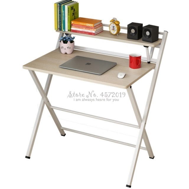 Simple Computer Desk Desktop Folding Table Secretary Bedroom Student Desk Is Contracted And Contemporary Household Small Table