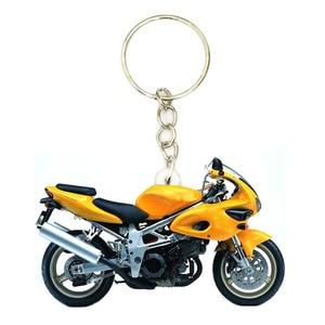 Acrylic Vintage Motorcycle Keyring Women Keychains Purse Key Ring Boyfriend Gift Keyrings NOT 3D Mini Bike Keychain Toy