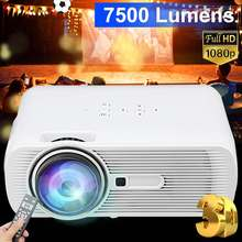 7000 Lumens Projector 800*480 Resolution Portable HD LED Proyector Home Cinema T