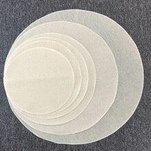 5 шт., чистый хлопок, пароварка, сетчатая ткань, круглый горшок, марлевая прокладка, многоразовый коврик на пару для кондитерских изделий, Dim Sum, пароварка для вареников