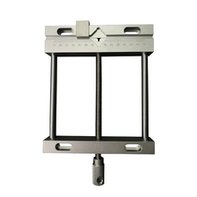 Aluminium alloy Flat tongs Vice Milling Machine Bench drill Vise Fixture flat tongs screw precision parallel-jaw vice plain QGG