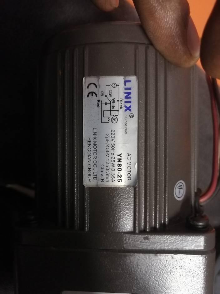 Linix Motor YN80-25 220V 25w