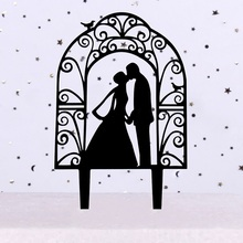 Wedding Arch Bride and Groom Acrylic Cake Topper Decorations Wholesale