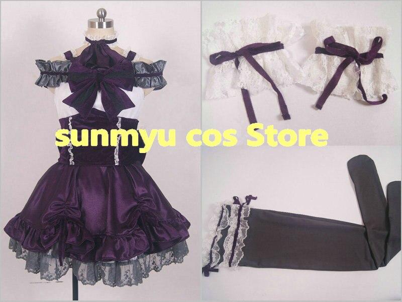 Personnaliser, livraison gratuite! Le Costume de Cosplay violet IDOLM @ STER cendrillon filles Kanzaki Ranko, taille personnalisée Halloween en gros