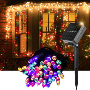 Solar LED String Light Outdoor Waterproof Christmas Solar Lights for Party Garden Decoration 7M 12M 22M RGB New Year Fairy Light