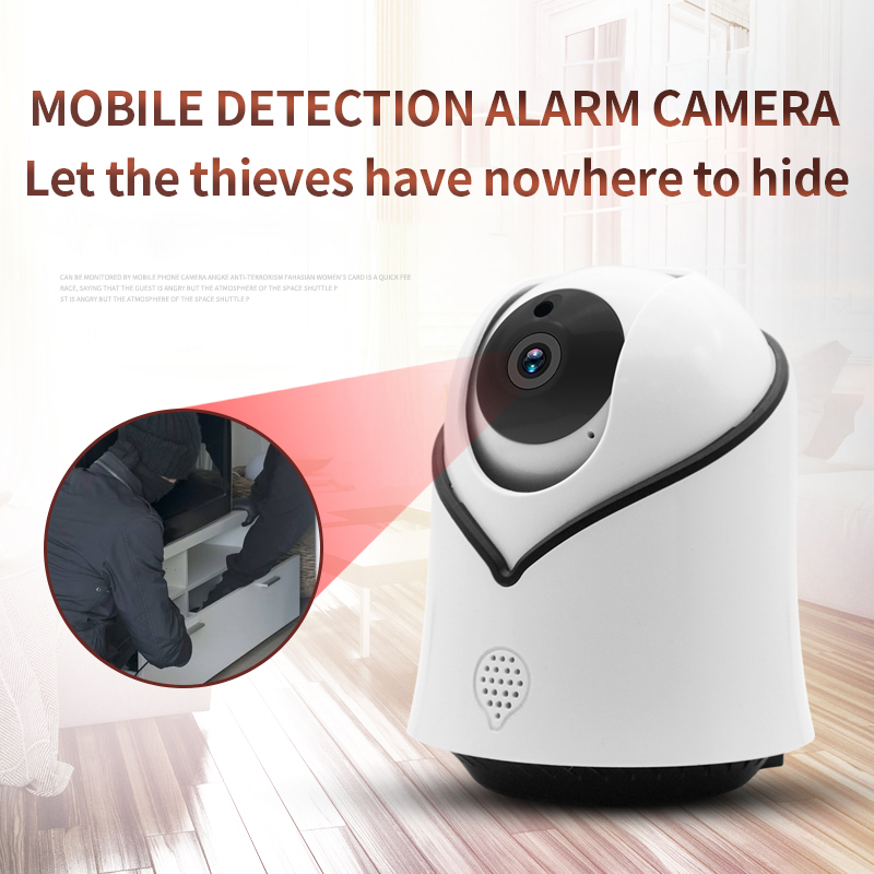 720/1080P PTZ Wireless IP Camera Infrared Night Vision Voice Call Home Security Surveillance WiFi Camera Support 128G