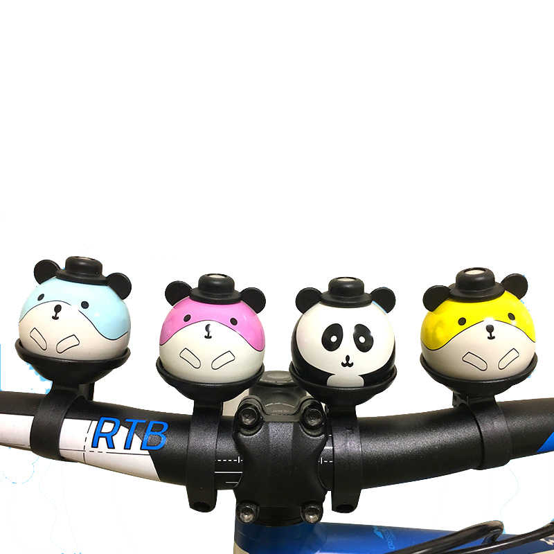 دراجة أجراس ملحق للسلامة جميل دراجة من سبيكة الألومنيوم جرس حلقة دراجة المقود حلقة معدنية جرس الدراجة دراجة الملحقات