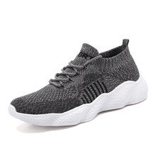 2020 New Mesh Men's Casual Shoes Brathable Lightweight Male Lace-Up Comfortable High Quality Shoes Fashion Walking Men Sneakers(China)