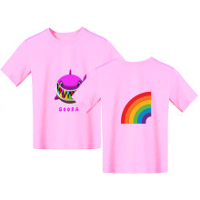 6ix9ine T-shirt GOOBA T-shirt Unisex O-neck short-sleeved children's T-shirt Harajuku clothes Rainbow Shark Tekashi69