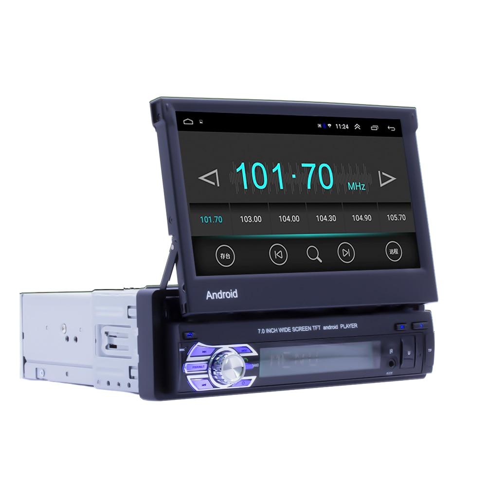 Car Radio Autoradio 1Din 7inch Screen Auto Multimedia Android Head Unit 8.1 Gps USB BT Navigation Stereo Tape Recorder Universal