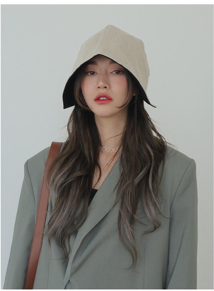 HUANZHI-2020-New-Korea-Summer-Retro-Transparent-Acrylic-Link-Chain-Short-Clavicle-Choker-Necklace-for-Women (2)