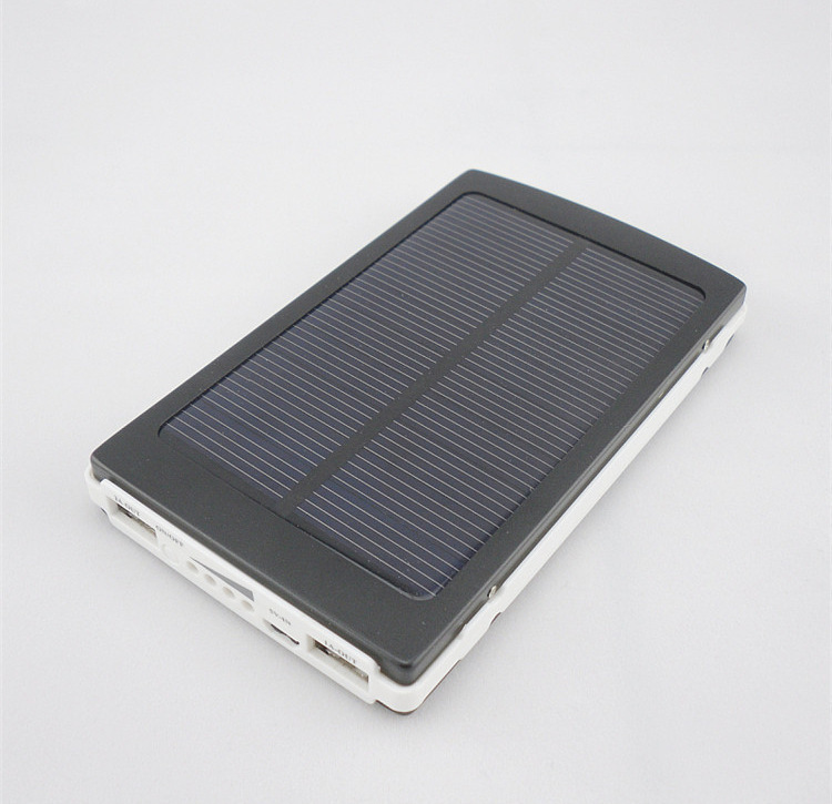 30000mAh Waterproof/Dustproof Solar Power Bank with Double USB Output and LED Flashlight 11