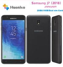 Samsung-teléfono inteligente Galaxy J7 (2018), renovado, J737T/V, 5,5 pulgadas, 2GB de RAM, 16GB de ROM, LTE, 4G, cámara de 8.0MP, ocho núcleos