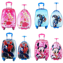 16''18 inch Cartoon kid's Luggage travel suitcase with wheel