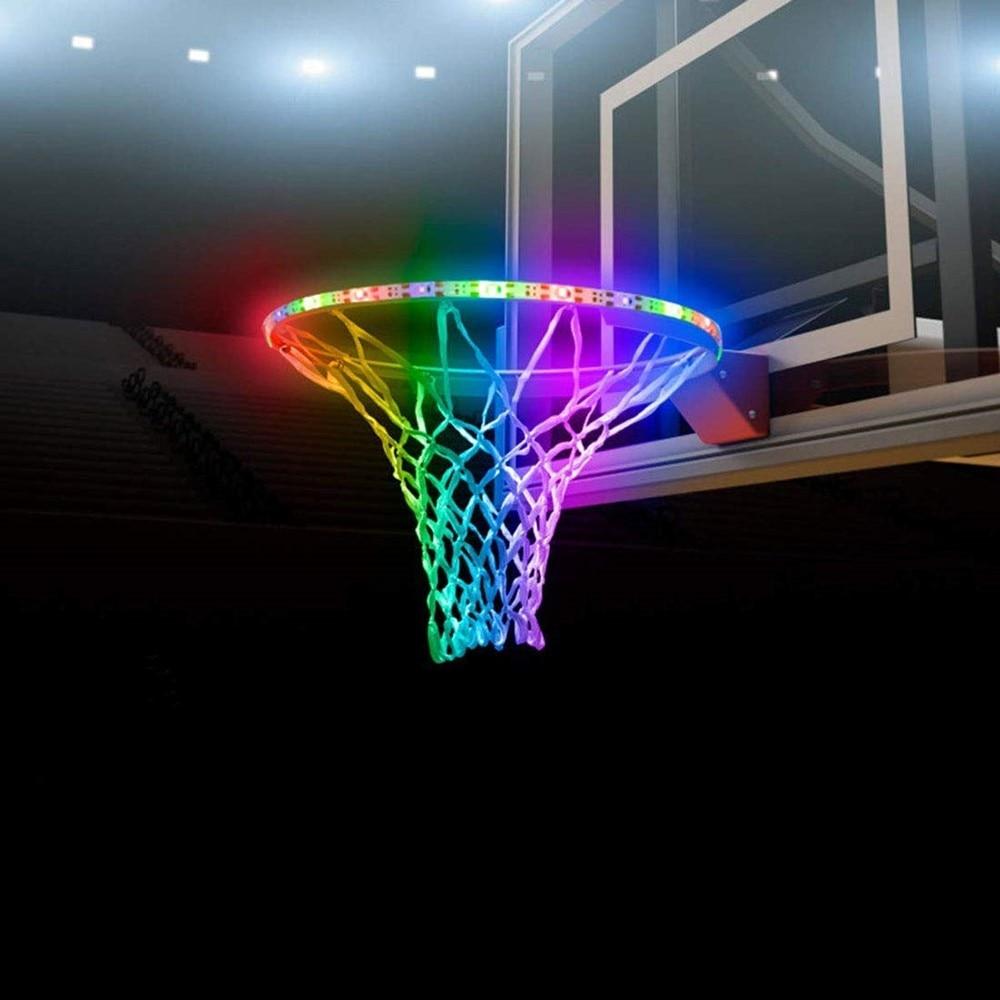 2835smd 45leds Basketball Hoop Lights LED Solar Strip Light For Indoor/Outdoor Basketball Hoop