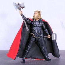 SHF Avengers Endgame Thor 6 #8222 pcv figurka-Model kolekcjonerski Toy tanie tanio Zygarde Unisex 14cm not for children under 3 years 16cm Remastered version 5-7 lat 8-11 lat 12-15 lat Dorośli 14 lat
