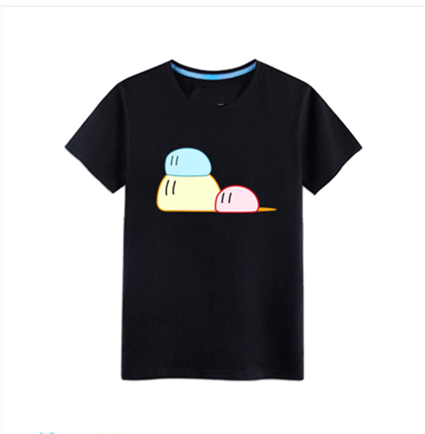 Unisex Women'S <font><b>Anime</b></font> <font><b>Clannad</b></font> Cute Cotton Short Sleeve T-Shirt Basic Tee Tops New Unisex Loose Fit Tee Shirt image