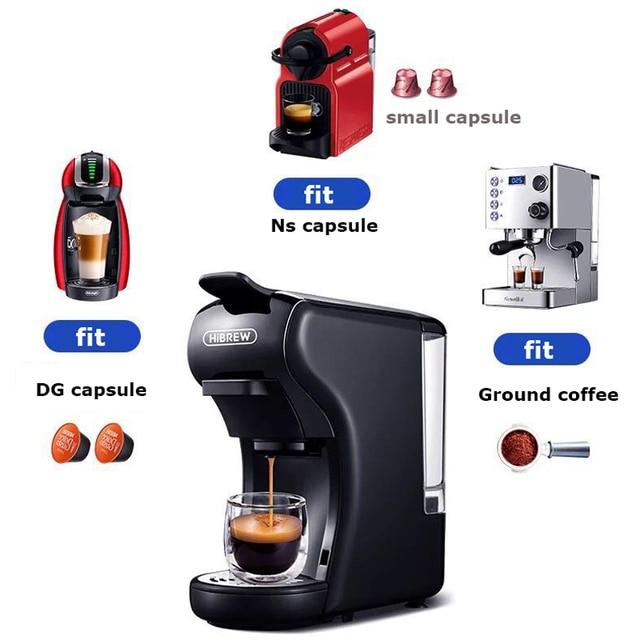 HiBREW capsule coffee maker  espresso machine, Multi capsule coffee maker Dolce gusto capsule machine 5