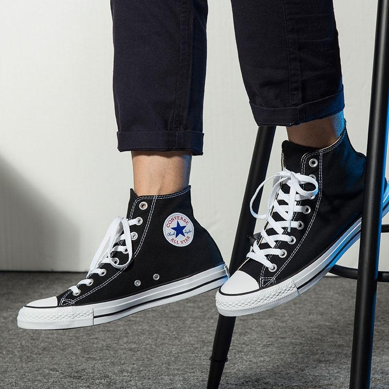 Мужские кроссовки для скейтборда converer All-star, классические женские кеды, холщовая удобная прочная обувь унисекс с высоким верхом, 101010