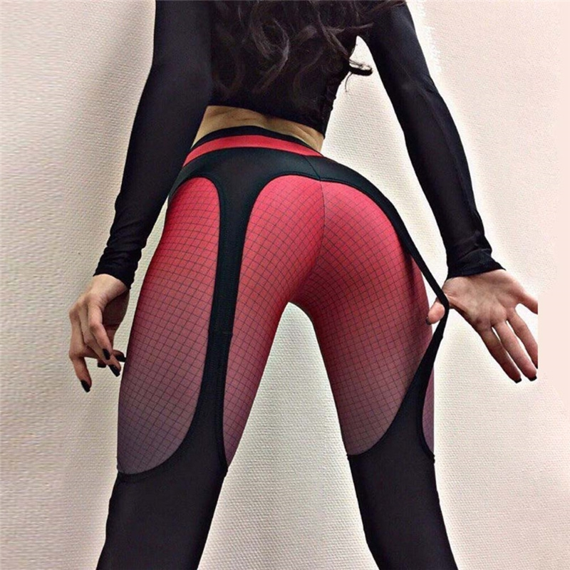 Fashion Sports Leggings Women Outdoor Fitness Sexy Pants Girl Workout Leggings Jeggings Calzas Mujer Leggins OA088