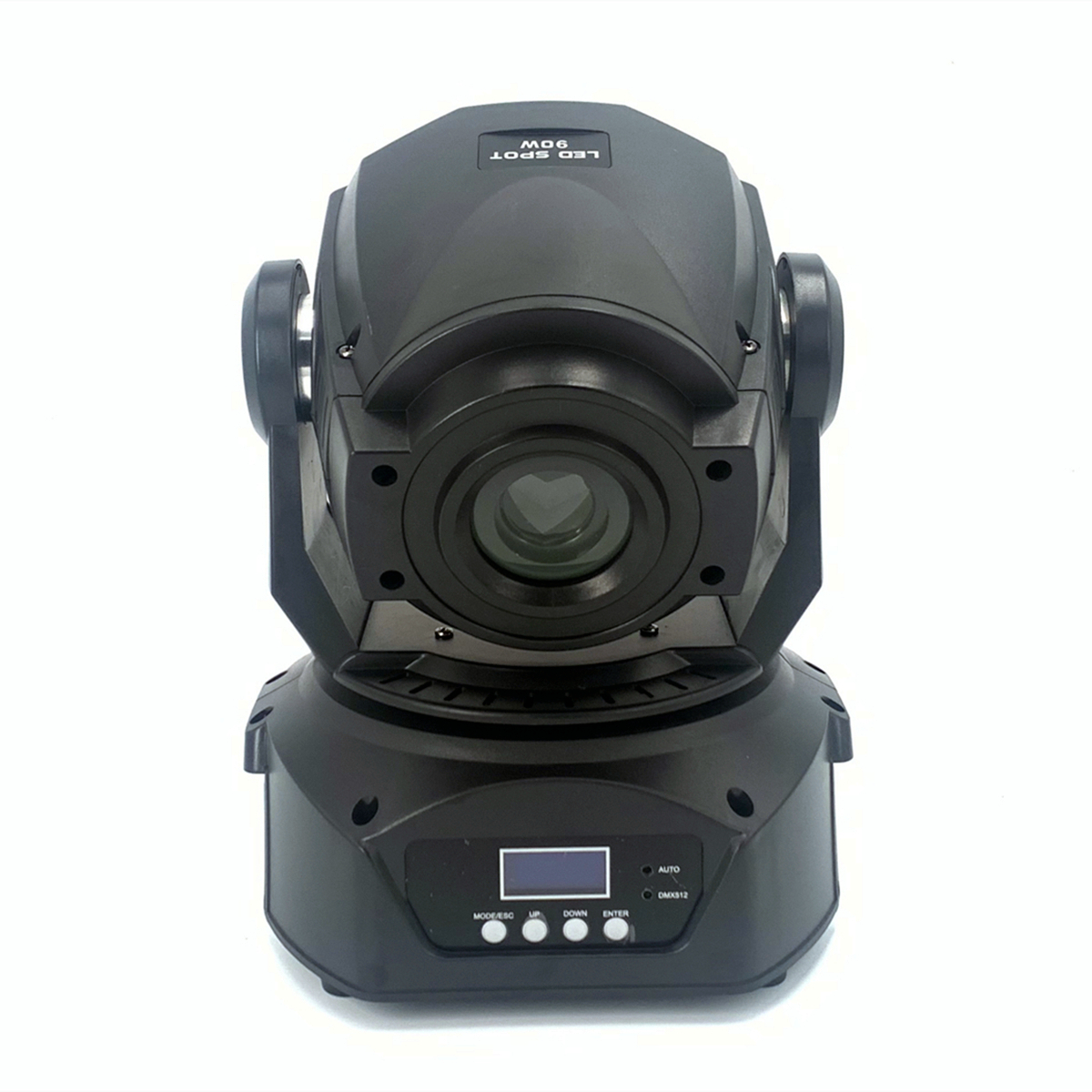 LED 90W Moving Head Gobo Light With Roto Gobos 3 Face Roto Prism DMX Controller LED Spot Moving Head Light  Disco Dj Stage Light