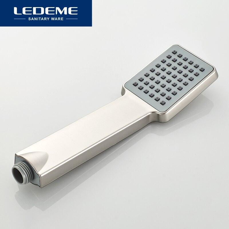 LEDEME Dusche Wasserhahn Dusche Handtuch Swivel Auslauf Bad Auslauf Wasserfall Badewanne Dusche Wasserhahn Bad Regen Bad Dusche Mixer L72433