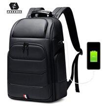 Zaini impermeabili Fenruien borsa da scuola per ricarica USB zaino da uomo antifurto zaino da viaggio per Laptop da 15.6 pollici ad alta capacità