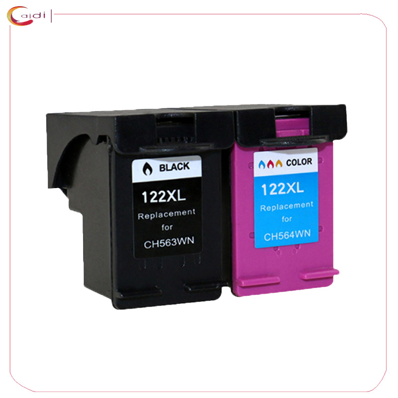 Compatible Ink Cartridge for <font><b>HP</b></font> <font><b>122</b></font> 122XL for <font><b>HP</b></font> 1000 1050 2000 2050 1510 3050 3000 3050A Printer cartridge Ink image