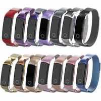 Metall Handgelenk für Huawei Honor Band 4 5 Strap Edelstahl Magnetische Correa für Armband Sport Uhr Armband Gürtel Zubehör