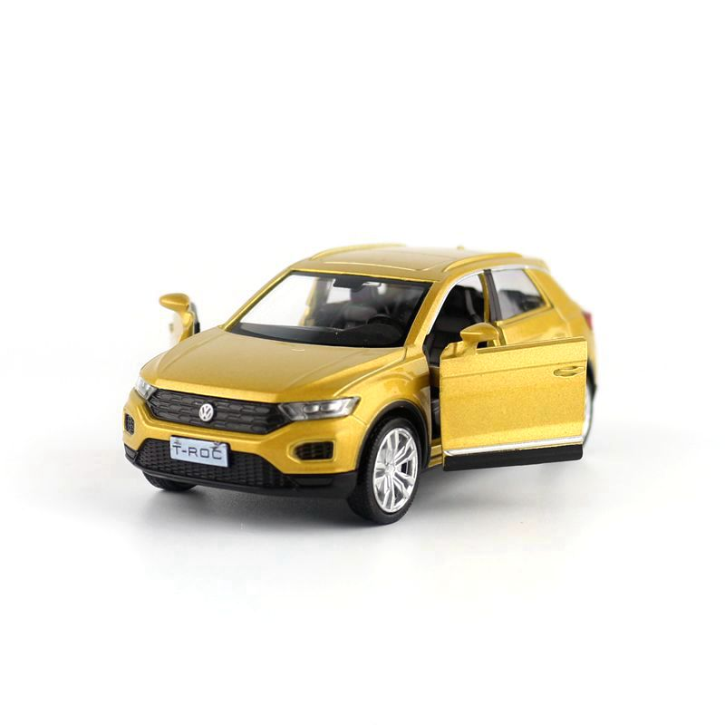 Free Shipping/RMZ City Toy/Diecast Model/1:36 Scale/Volkswagen T-Roc Sport SUV/Pull Back Car/Educational Collection/Gift/Kid